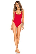 lovewave Camden One Piece in Bright Red