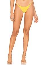 lovewave The Jerry Bikini Bottom in Golden