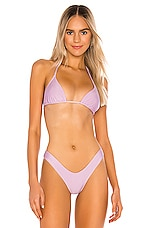 LOVEWAVE The Campbell Top in Lavender Frost