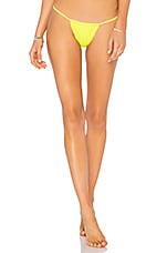 lovewave The Campbell Bottom in Neon Yellow