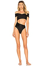 lovewave The Cleveland One Piece in Black
