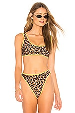 lovewave The Christy Top in Leopard