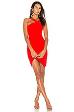 LIKELY Glenchester Dress in Scarlet