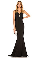 LIKELY Albury Gown in Black