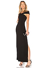 LIKELY Darrah Gown in Black