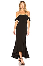 LIKELY Sunset Gown in Black