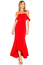 LIKELY Sunset Gown in Scarlet