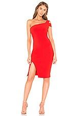LIKELY Packard Dress in Scarlet
