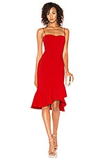 LIKELY Vallina Dress in Scarlet