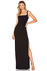LIKELY Phillipa Gown in Black