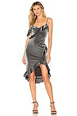 LIKELY Evangeline Dress in Silver