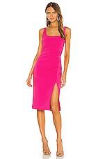 LIKELY Calero Dress in Fuchsia