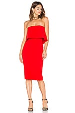 LIKELY Driggs Dress in Scarlet