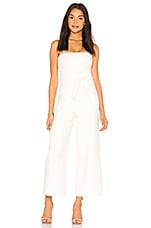 LIKELY Isla Jumpsuit in White