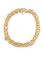 Lili Claspe Oval Link & Petite Oval Link Set in Gold