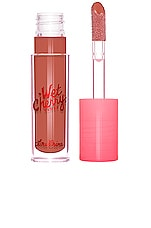 Lime Crime Wet Cherry Lip Gloss in Bitter Cherry