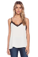 LIV Cara Lace Cami in Black & White