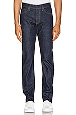 LEVI'S: Made & Crafted 511 in Resin Rinse Stretch Selvedge