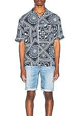 LEVI'S: Made & Crafted Pajama Shirt in Bandana Blues