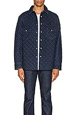 LEVI'S: Made & Crafted Quilted Western Shirt in Outback