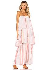 Lemlem Eskedar Tier Dress in Pink