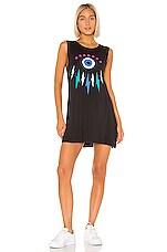 Lauren Moshi Deanna Dress in Onyx