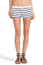 Byron Short in Natural & Black Stripe