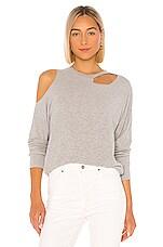 LNA X REVOLVE Brushed Lorenzo Sweater in Heather Grey