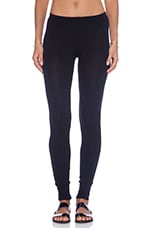 French Terry Legging in Black