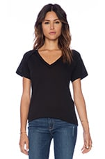 Inside Out Tee in Black