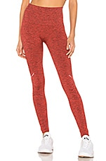 LNDR Blackout Legging in Coral Marl