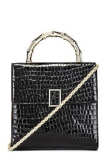 Loeffler Randall Tani Mini Square Crossbody in Black