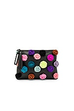 Tassel Pouch in Black & Multi