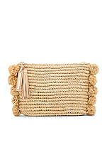 Tassel Pouch in Natural