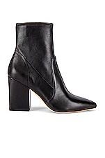 Loeffler Randall Isla Slim Ankle Bootie in Black