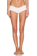 Cannon Ball Bikini Bottom in Dot White