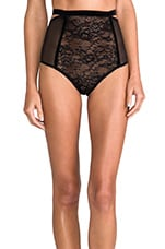 Sabel High Waisted Brief in Black