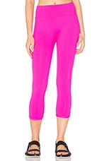 Diva 7/8 Tight en Rose Fluo