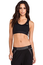 Laser Sports Bra in Black