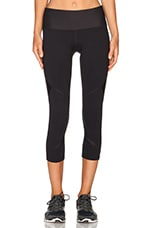 Sleek Core Stability 7/8 Tight en Noir