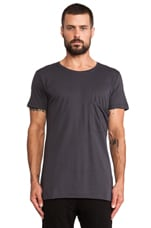 Modal Jersey Tee in Anthracite