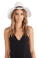 Lovely Bird Buenos Aires Triple Wrap Hat in Cream