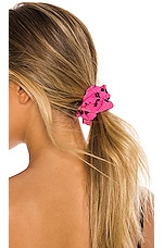 Lovers + Friends Scrunchie in Bubblegum Pink