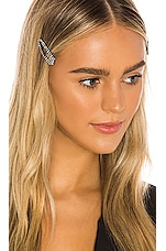 Lovers + Friends Ritz Hair Clips in Clear
