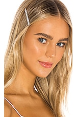 Lovers + Friends Victoria Bobby Pins in Clear