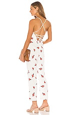 Lovers + Friends Dillon Jumpsuit in White