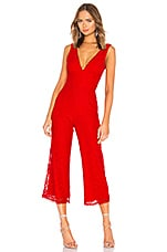 Lovers + Friends Kenneth Jumpsuit in Red