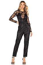 Lovers + Friends Nora Jumpsuit in Black