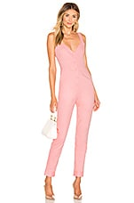 Lovers + Friends Jessie Jumpsuit in Pink