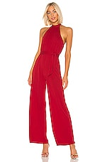 Lovers + Friends Don't Be Shy Jumpsuit in Red
